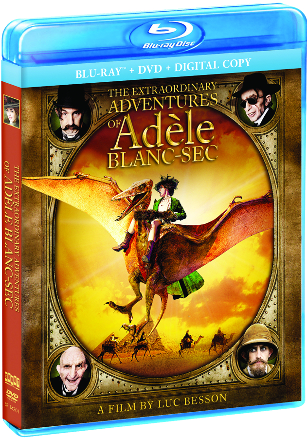 EXTRAORDINARY ADVENTURES OF ADELE BLANC-SEC DVD