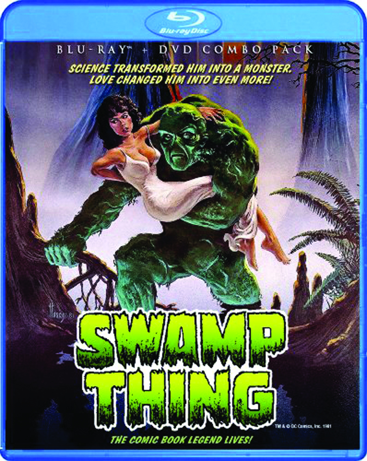 SWAMP THING BD + DVD