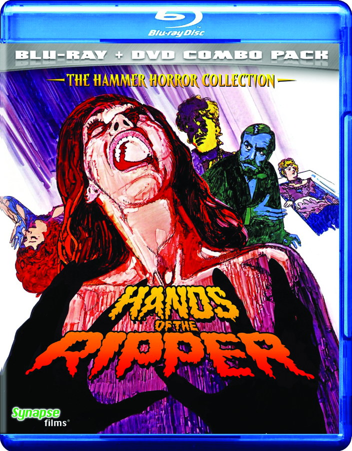 HANDS OF THE RIPPER BD + DVD