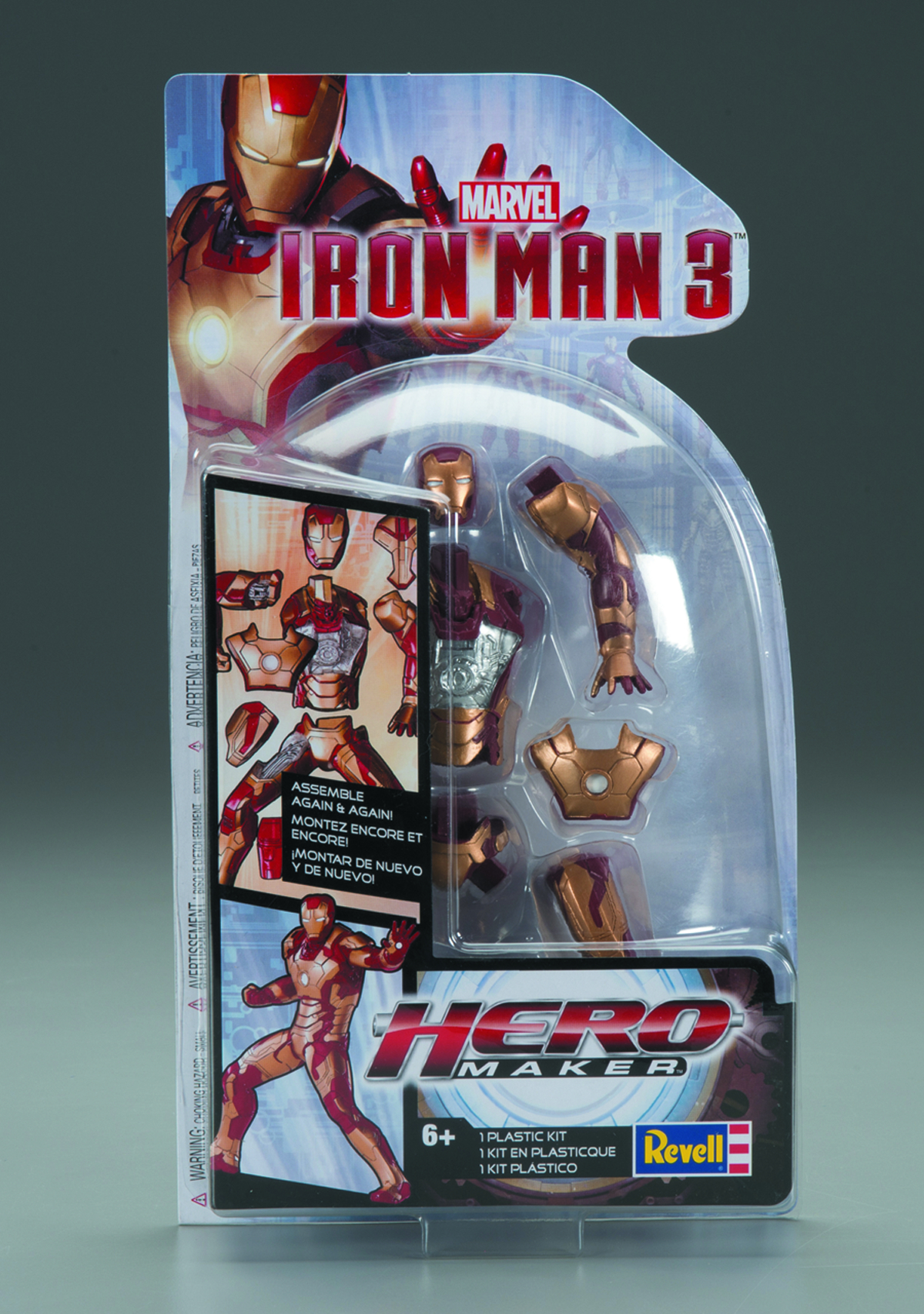 REVELL MARVEL IRON MAN 3 HERO MAKER KIT