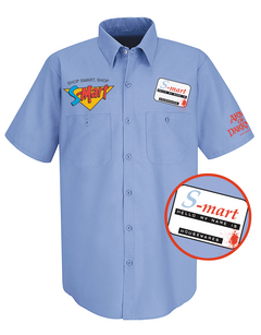 ARMY OF DARKNESS S-MART PX WORK SHIRT MED