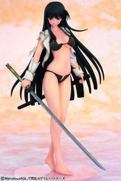 SENRAN KAGURA IKARUGA PVC FIG DAMAGE VER