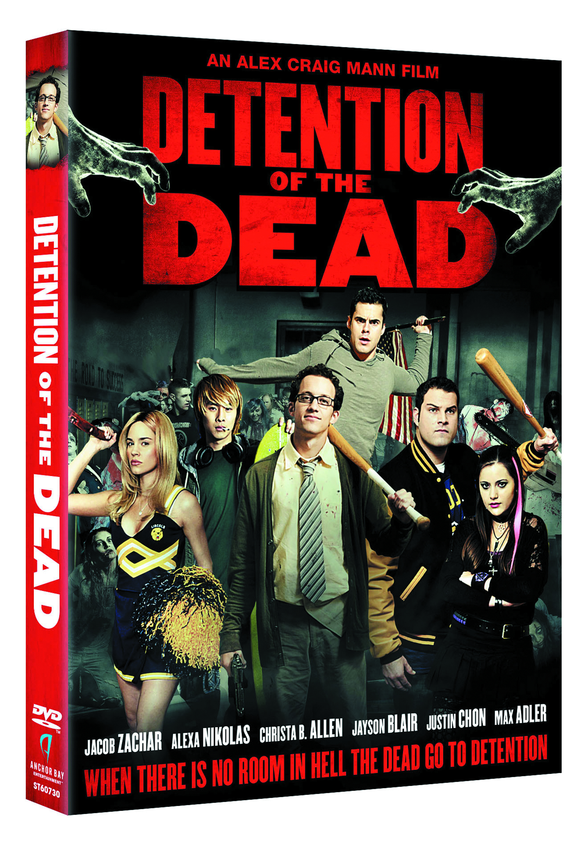 DETENTION OF THE DEAD DVD