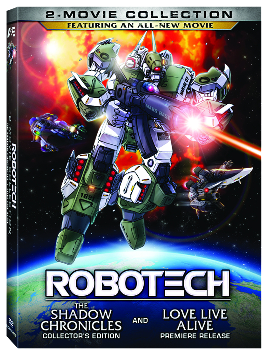 ROBOTECH BEYOND THE NEW GENERATION DVD