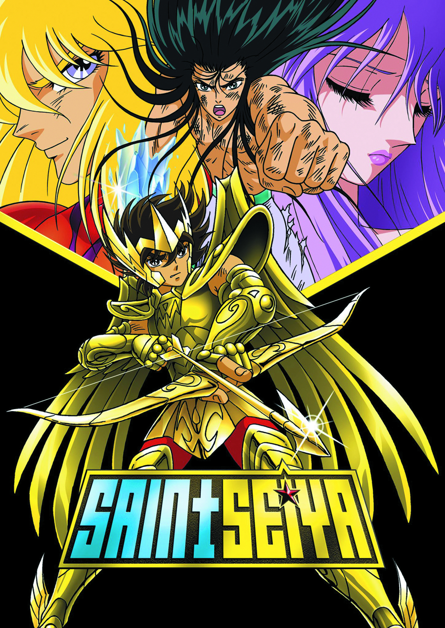 SAINT SEIYA MOVIES 1 & 2 DVD