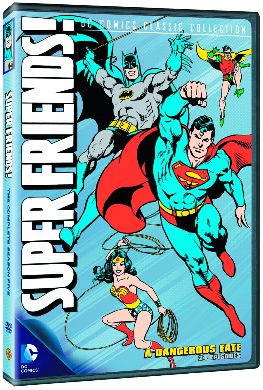 SUPER FRIENDS A DANGEROUS FATE DVD