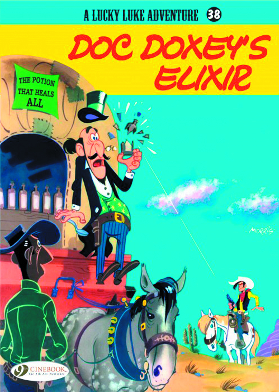 LUCKY LUKE TP VOL 38 DOC DOXEYS ELIXIR
