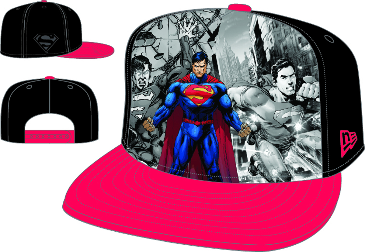 HERO BREAKOUT NEW 52 SUPERMAN PX SNAP BACK CAP