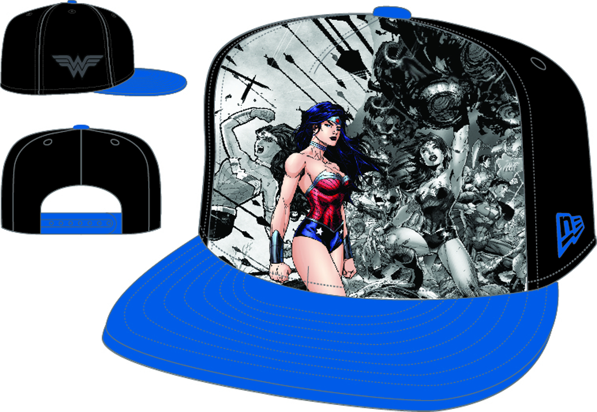 HERO BREAKOUT NEW 52 WONDER WOMAN PX SNAP BACK CAP