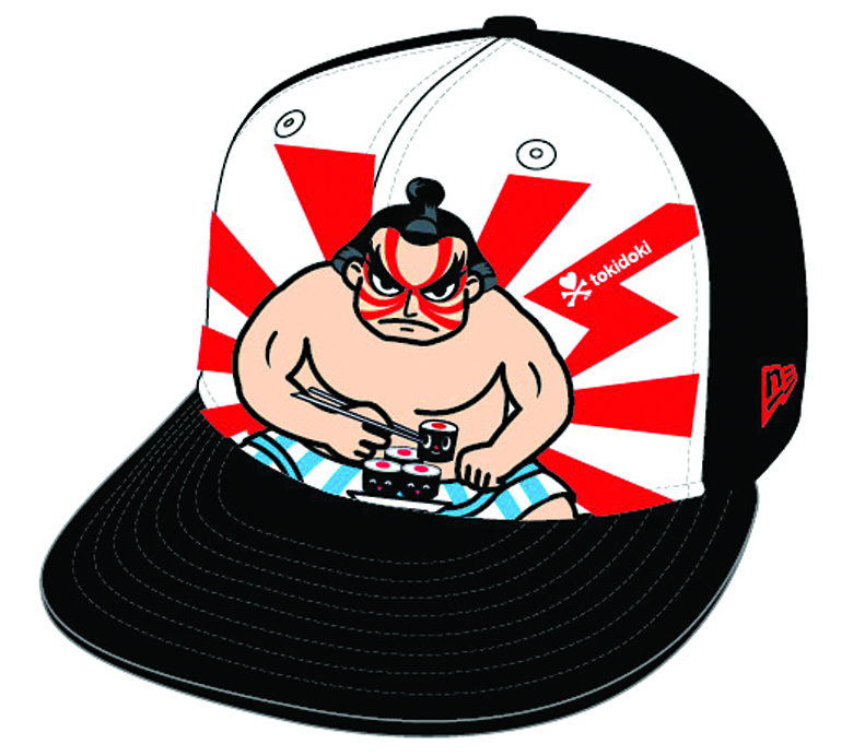STREET FIGHTER X TOKIDOKI SPICY TUNA SNAPBACK CAP