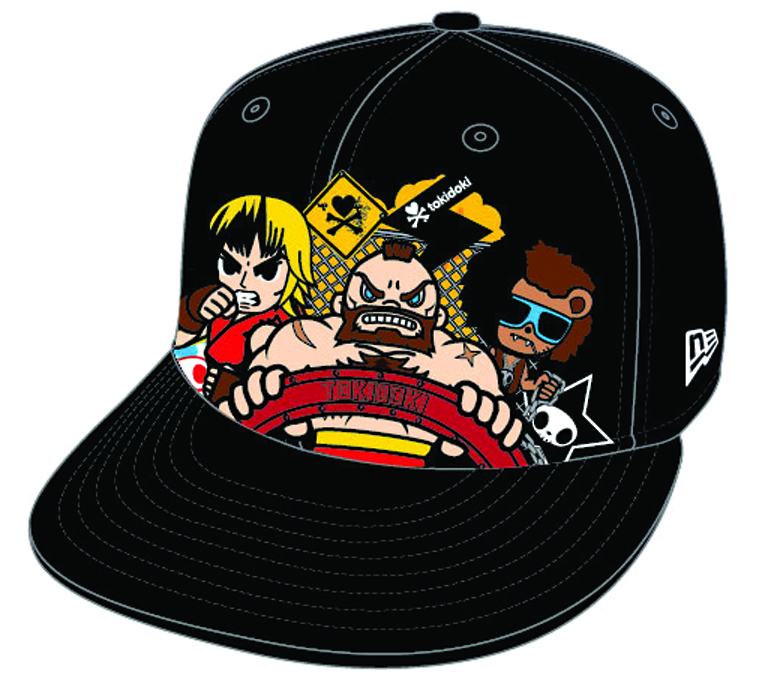 STREET FIGHTER X TOKIDOKI UPPERCUT RYU SNAPBACK CAP