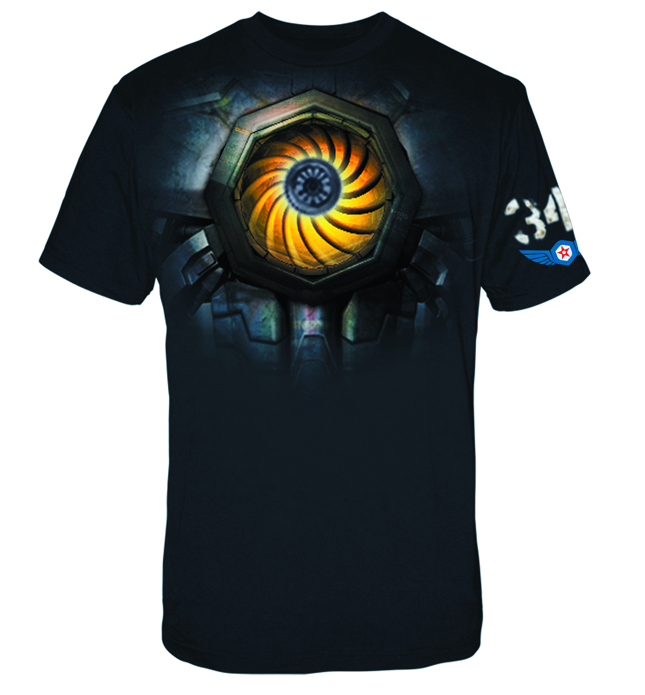 PACIFIC RIM GIPSY CHEST PIECE T/S XXL