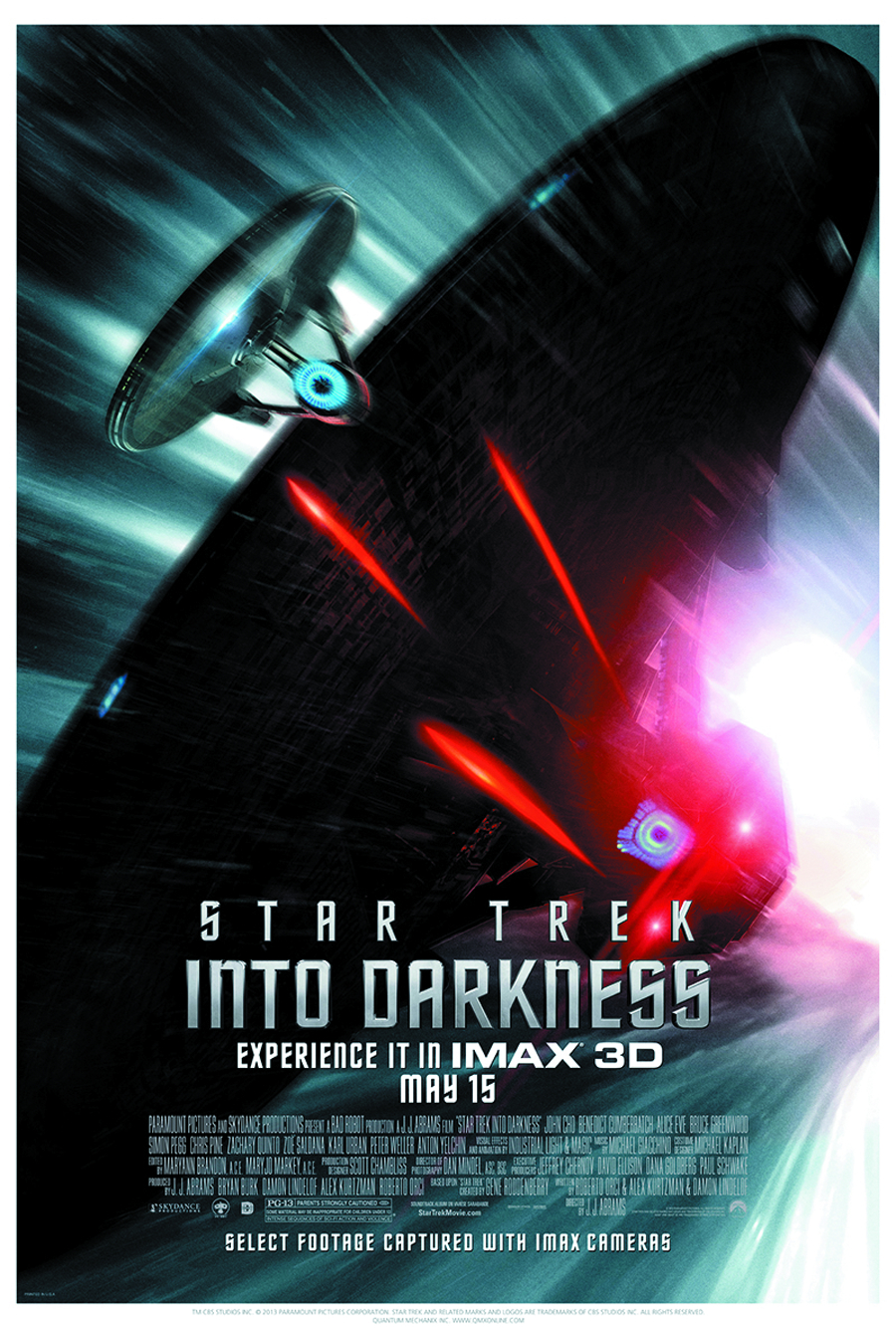 ST INTO DARKNESS PURSUIT MOVIE POSTER