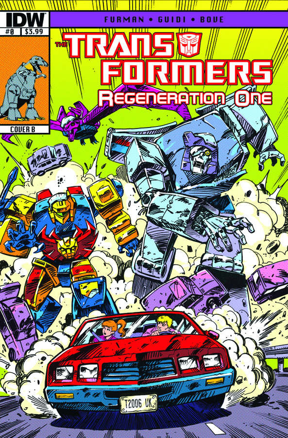 (USE JUL138395) TRANSFORMERS REGENERATION ONE #0