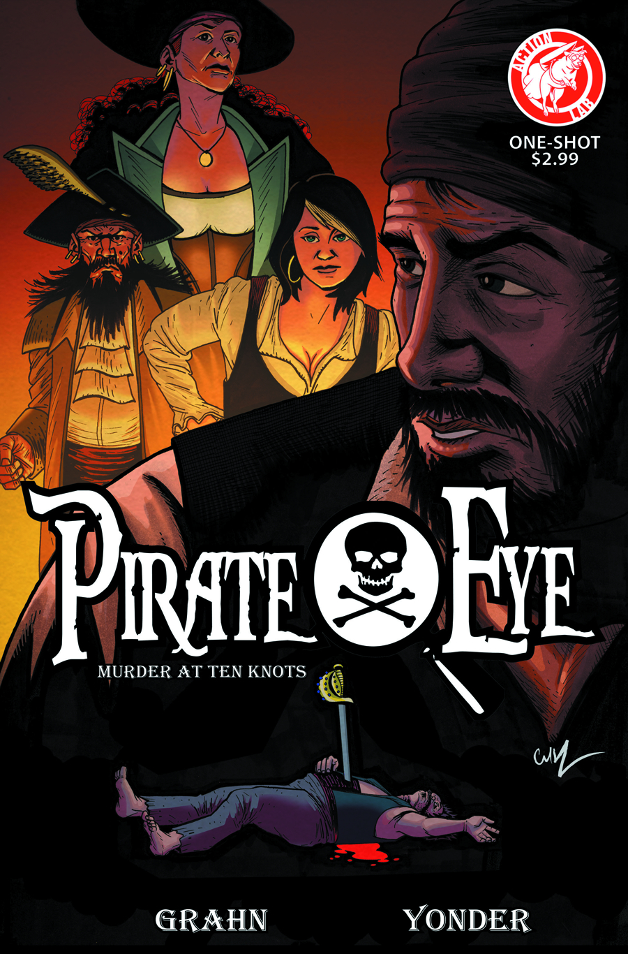 PIRATE EYE MURDER AT TEN KNOTS ONE SHOT