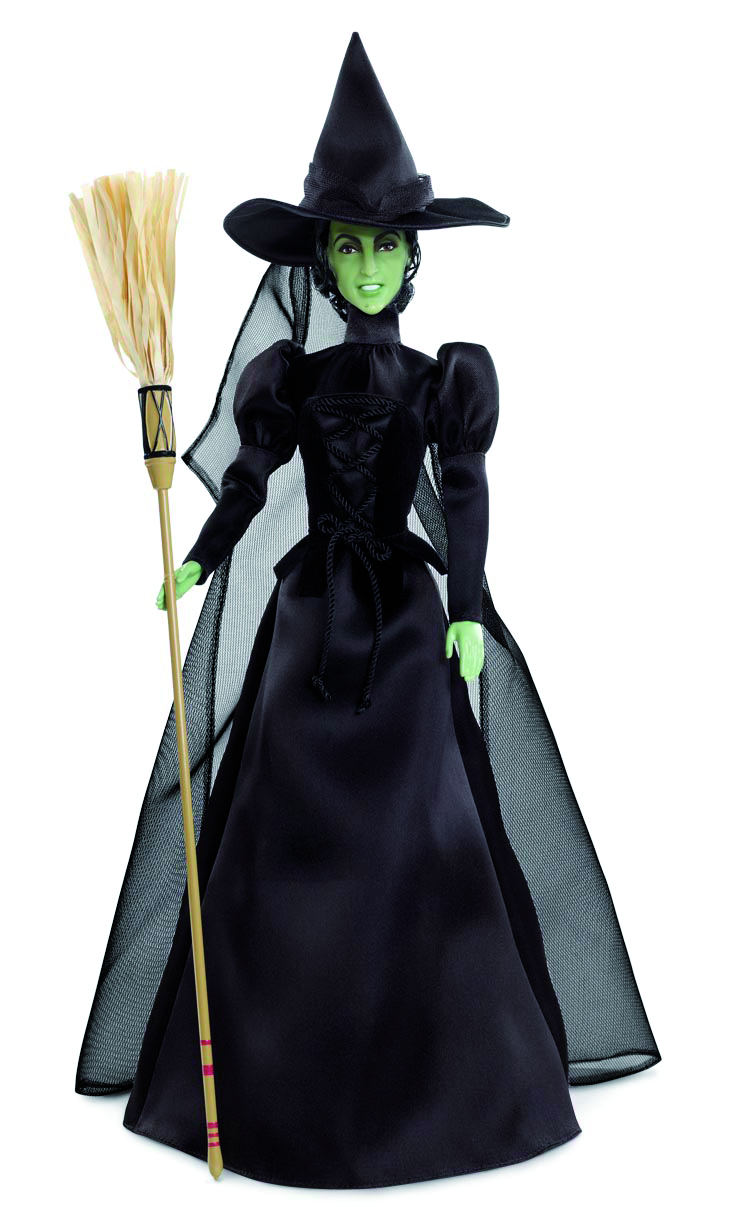 BARBIE WIZARD OF OZ WICKED WITCH O/T WEST DOLL