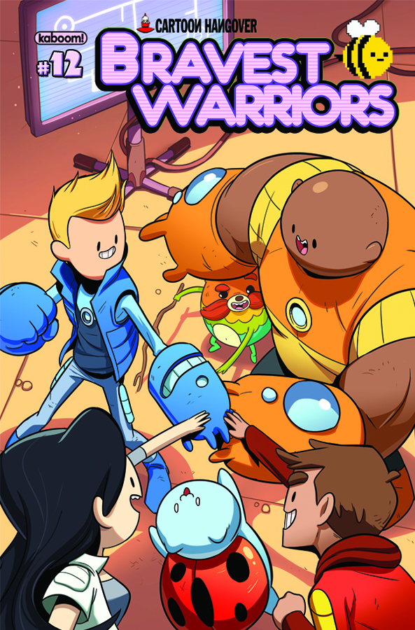 BRAVEST WARRIORS #12 MAIN CVRS