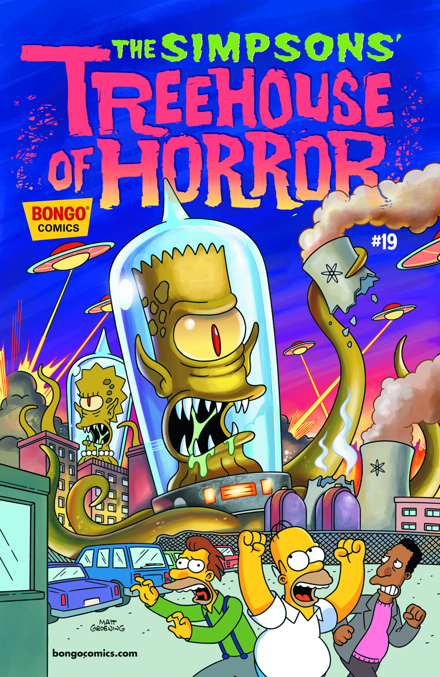SIMPSONS TREEHOUSE OF HORROR #19