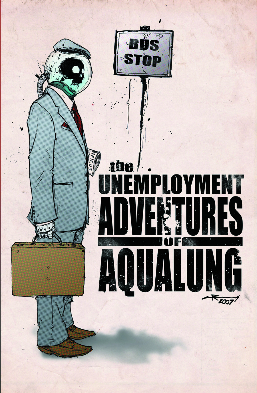 UNEMPLOYMENT ADVENTURES OF AQUALUNG GN