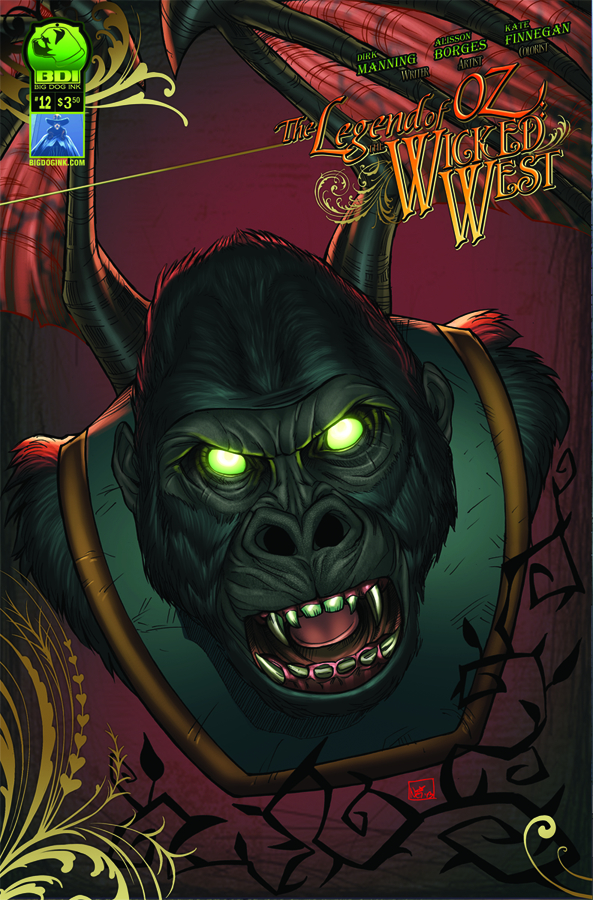 LEGEND OF OZ THE WICKED WEST ONGOING #12