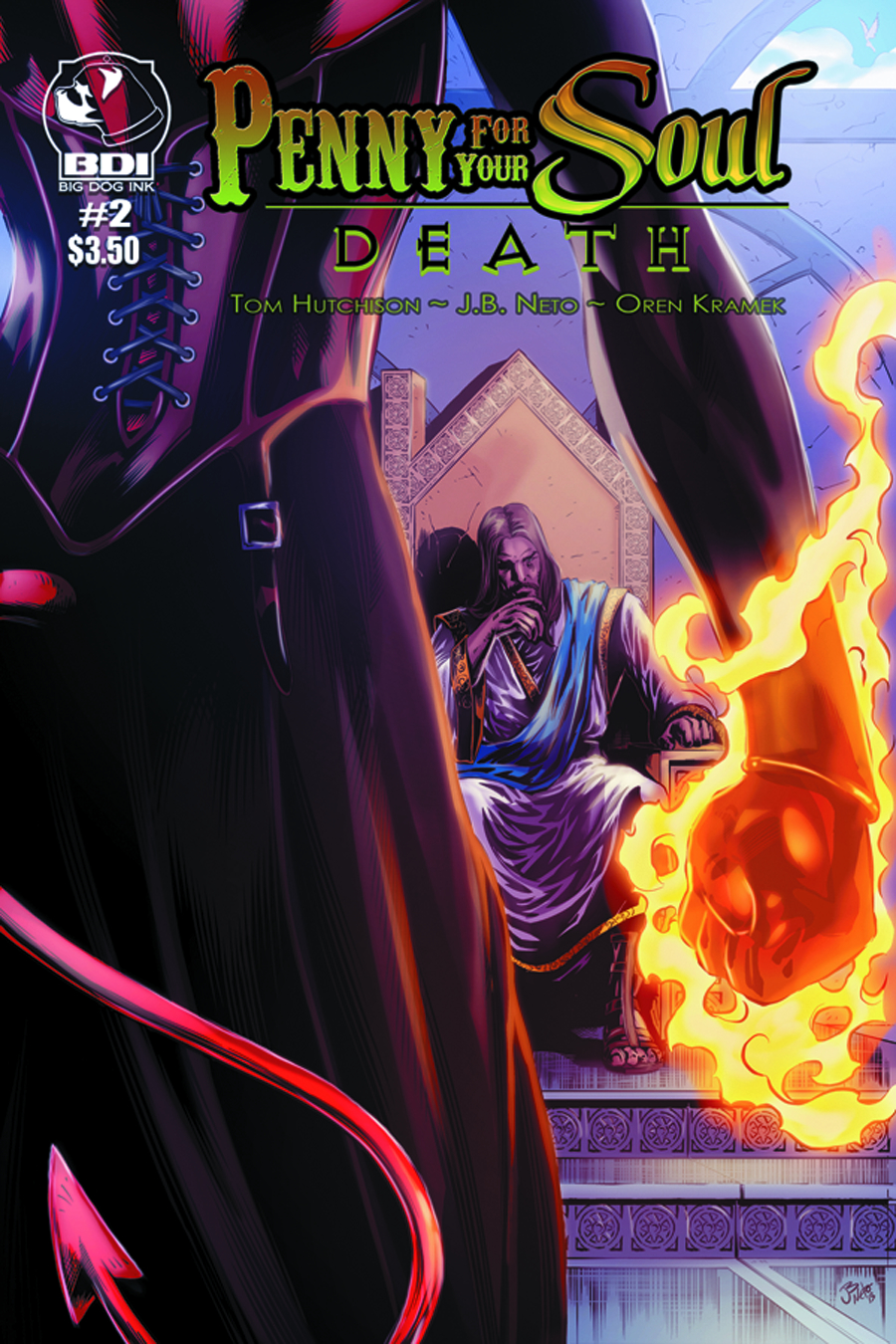 PENNY FOR YOUR SOUL DEATH #2 (OF 7)