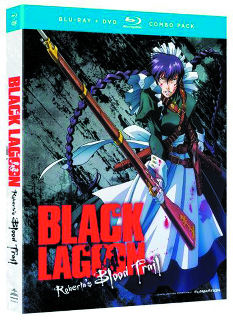 BLACK LAGOON ROBERTAS BLOOD TRAIL BD + DVD