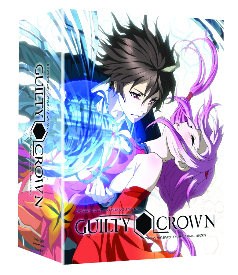 GUILTY CROWN COMP SER PT 01 BD + DVD LTD ED