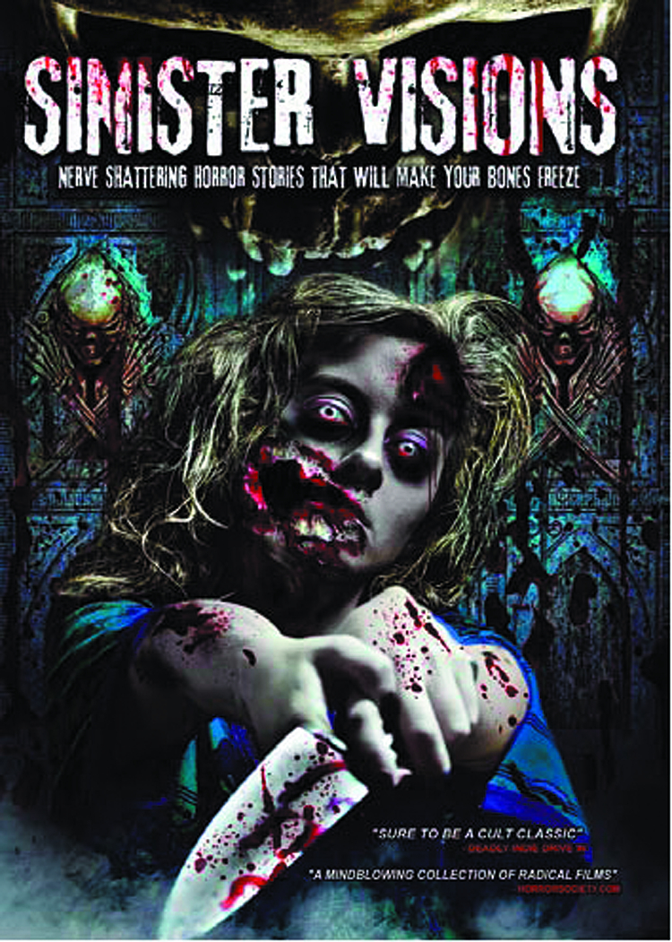 SINISTER VISIONS DVD