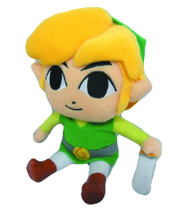 LEGEND OF ZELDA LINK 8IN PLUSH