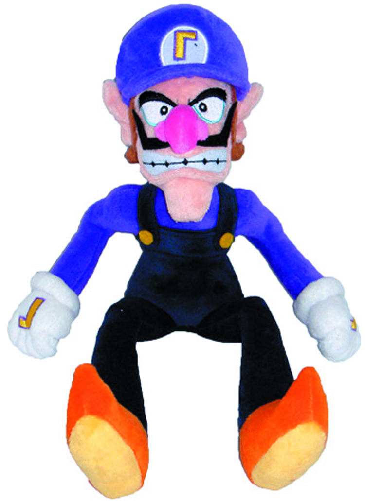 SUPER MARIO BROS WALUIGI 11IN PLUSH