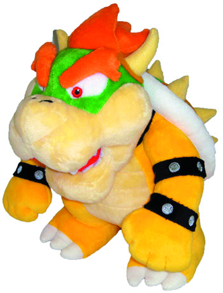 SUPER MARIO BROS BOWSER 10IN PLUSH