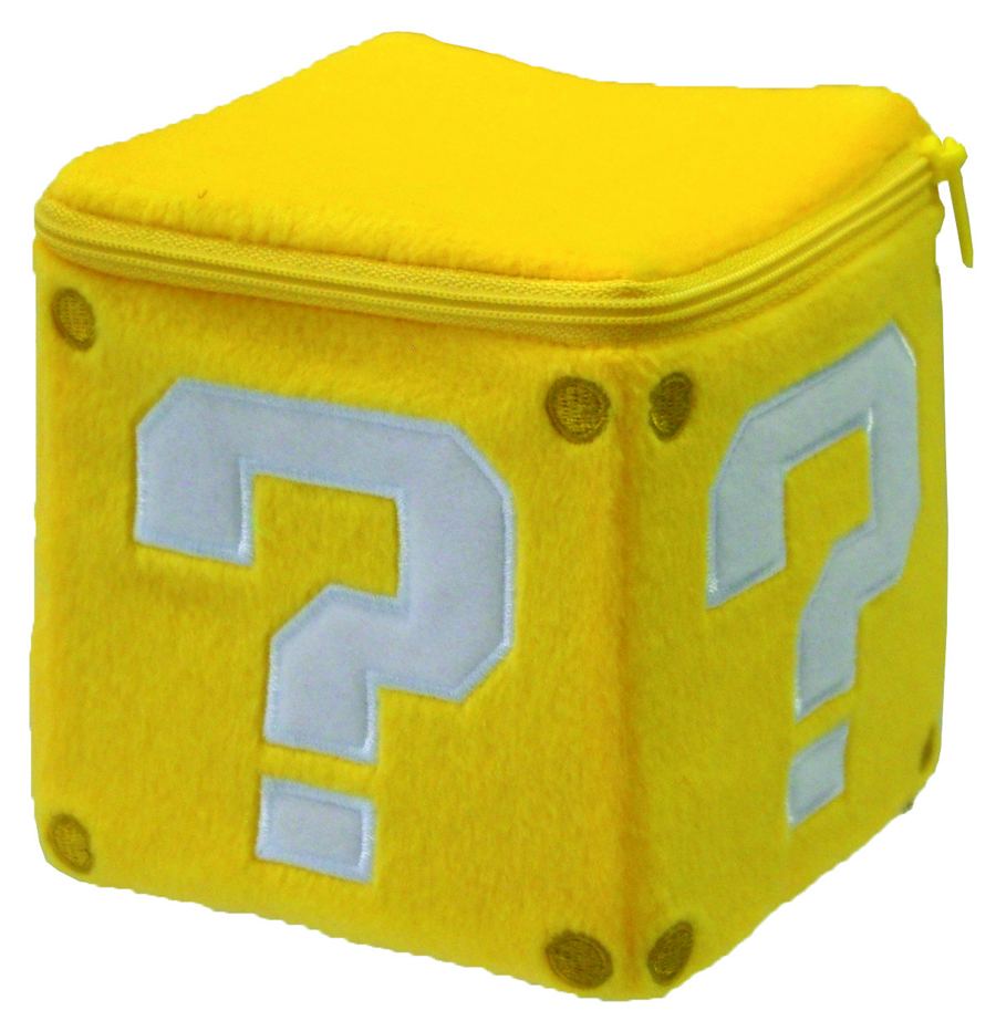 SUPER MARIO BROS COIN BOX 5IN PLUSH
