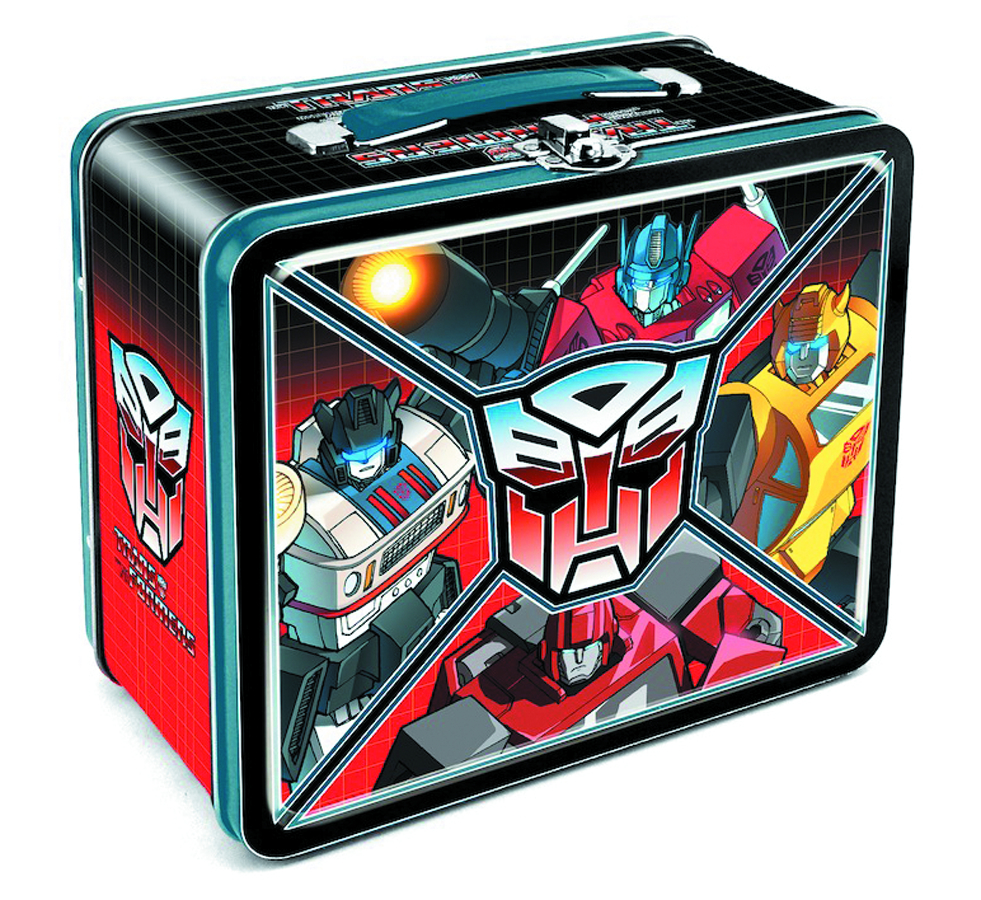 TRANSFORMERS AUTOBOT LUNCHBOX