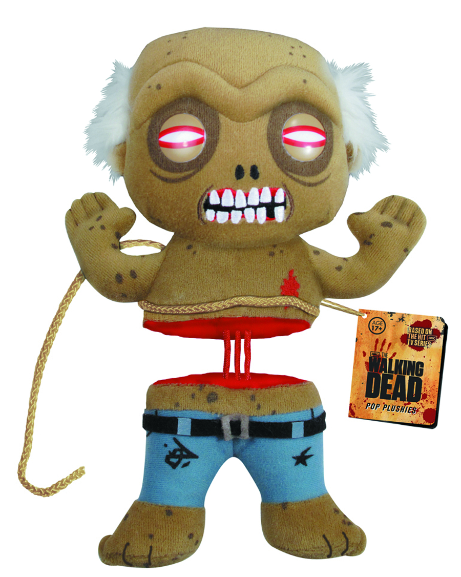 WALKING DEAD WELL ZOMBIE 7 INCH PLUSH