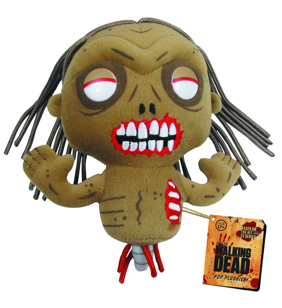 WALKING DEAD BICYCLE GIRL 7 INCH PLUSH