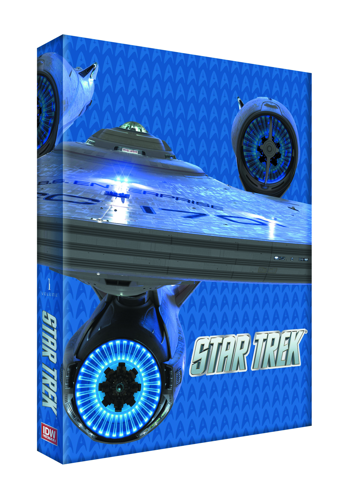STAR TREK ONGOING HC VOL 01 RED LABEL ED