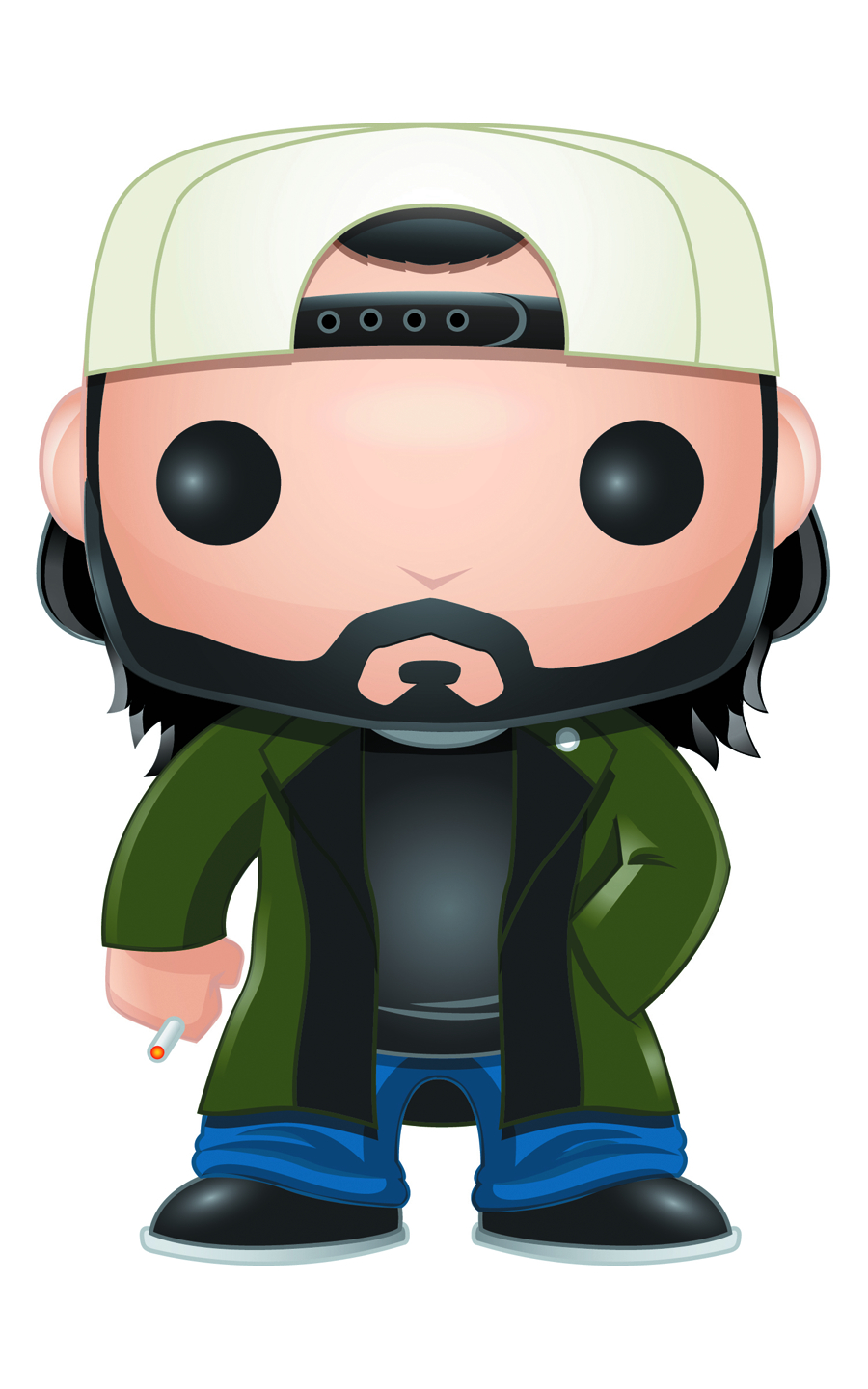 POP MOVIES SILENT BOB VINYL FIG