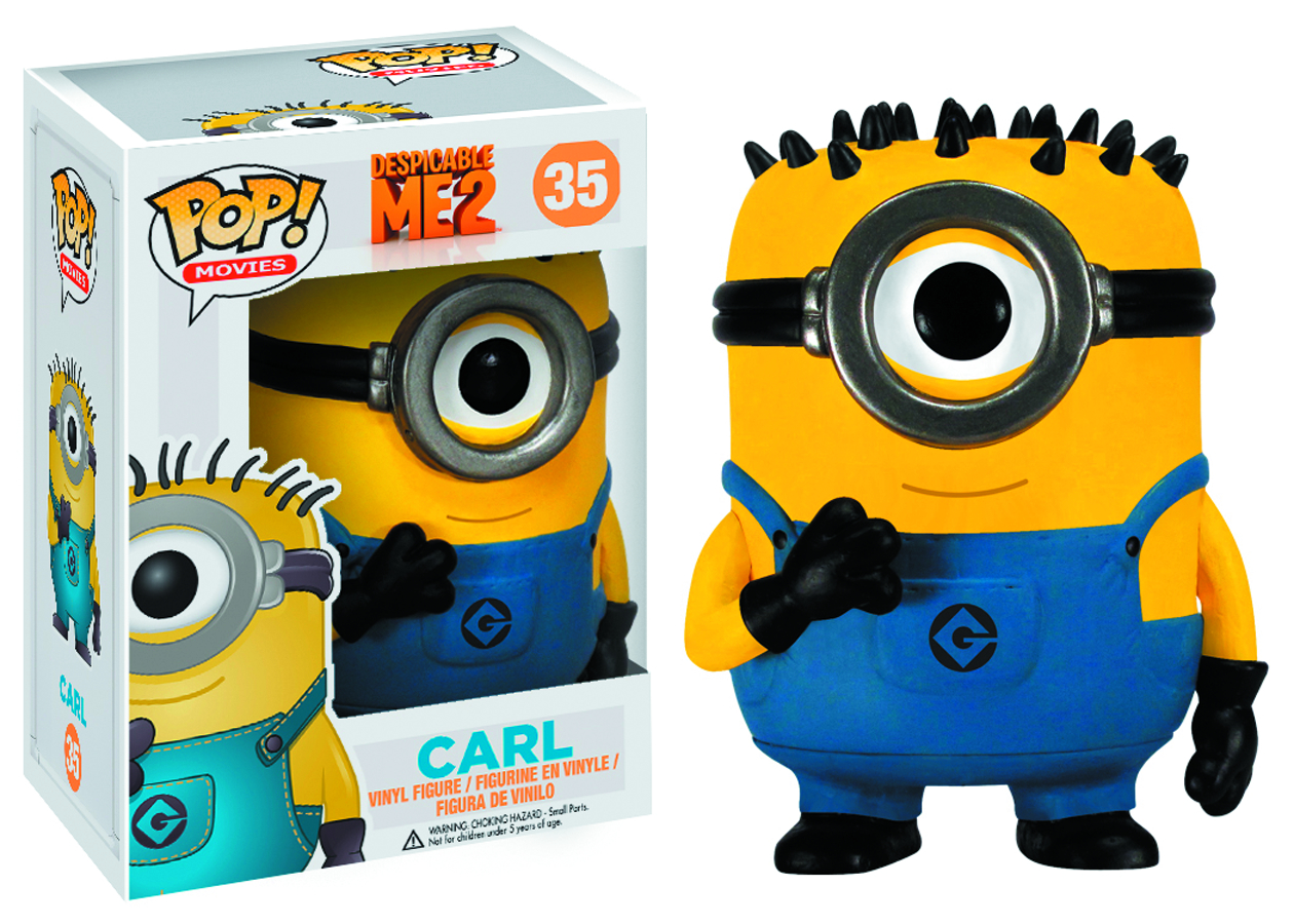 POP DESPICABLE ME CARL VINYL FIG