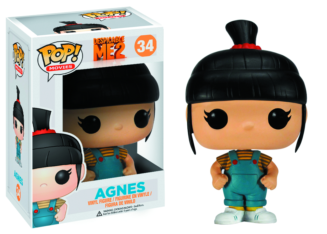 POP DESPICABLE ME AGNES VINYL FIG