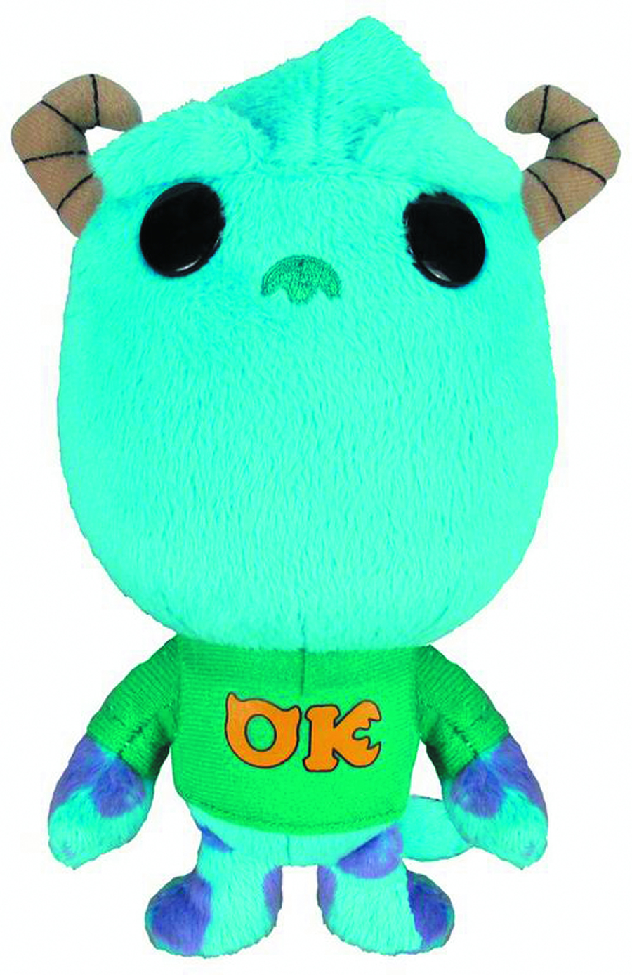 MONSTERS UNIVERSITY SULLY 7 INCH PLUSH