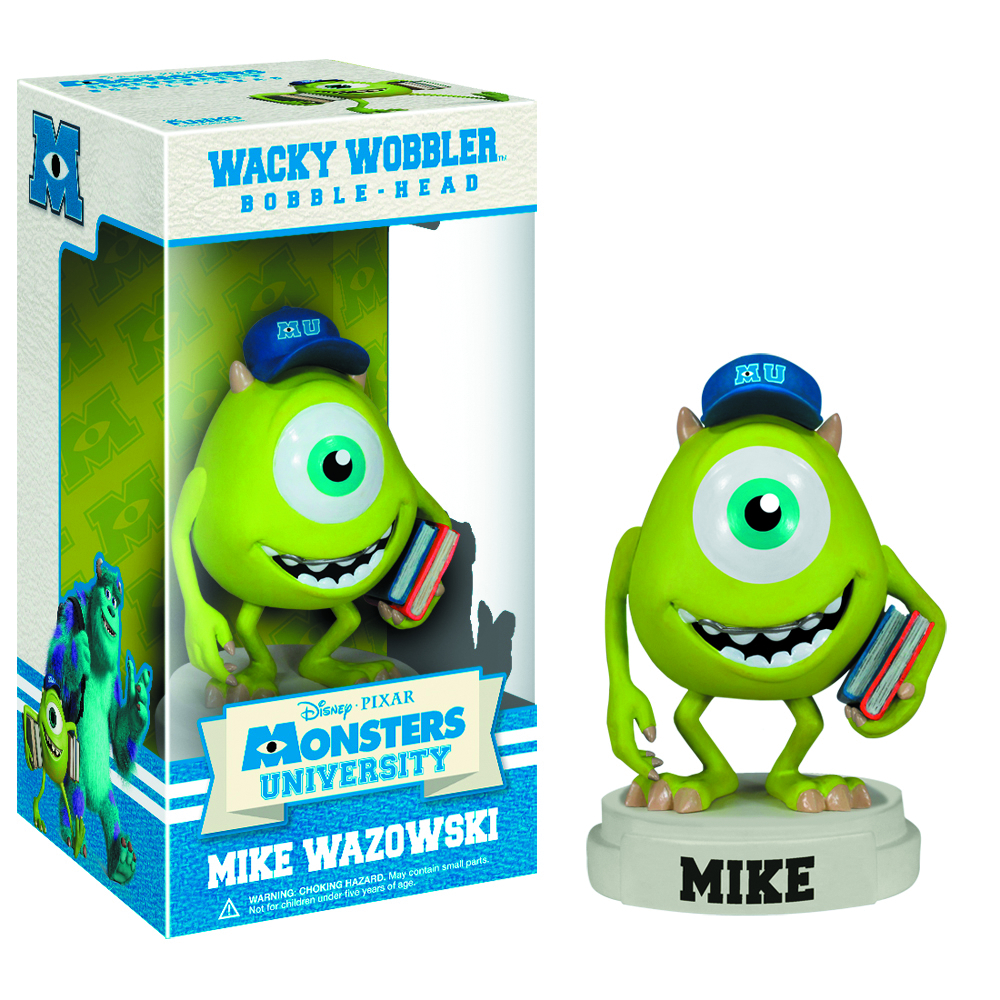 MONSTERS UNIVERSITY MIKE WACKY WOBBLER