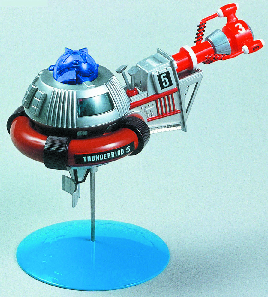 THUNDERBIRD 3 & 5 MINI MDL KIT
