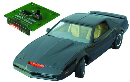 KNIGHT RIDER 2000 KITT 1/24 SCALE MDL KIT SEA 04 VER