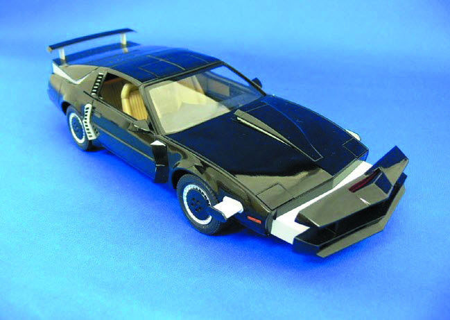KNIGHT RIDER KITT 1/24 SCALE MDL KIT SCAN MODE VER