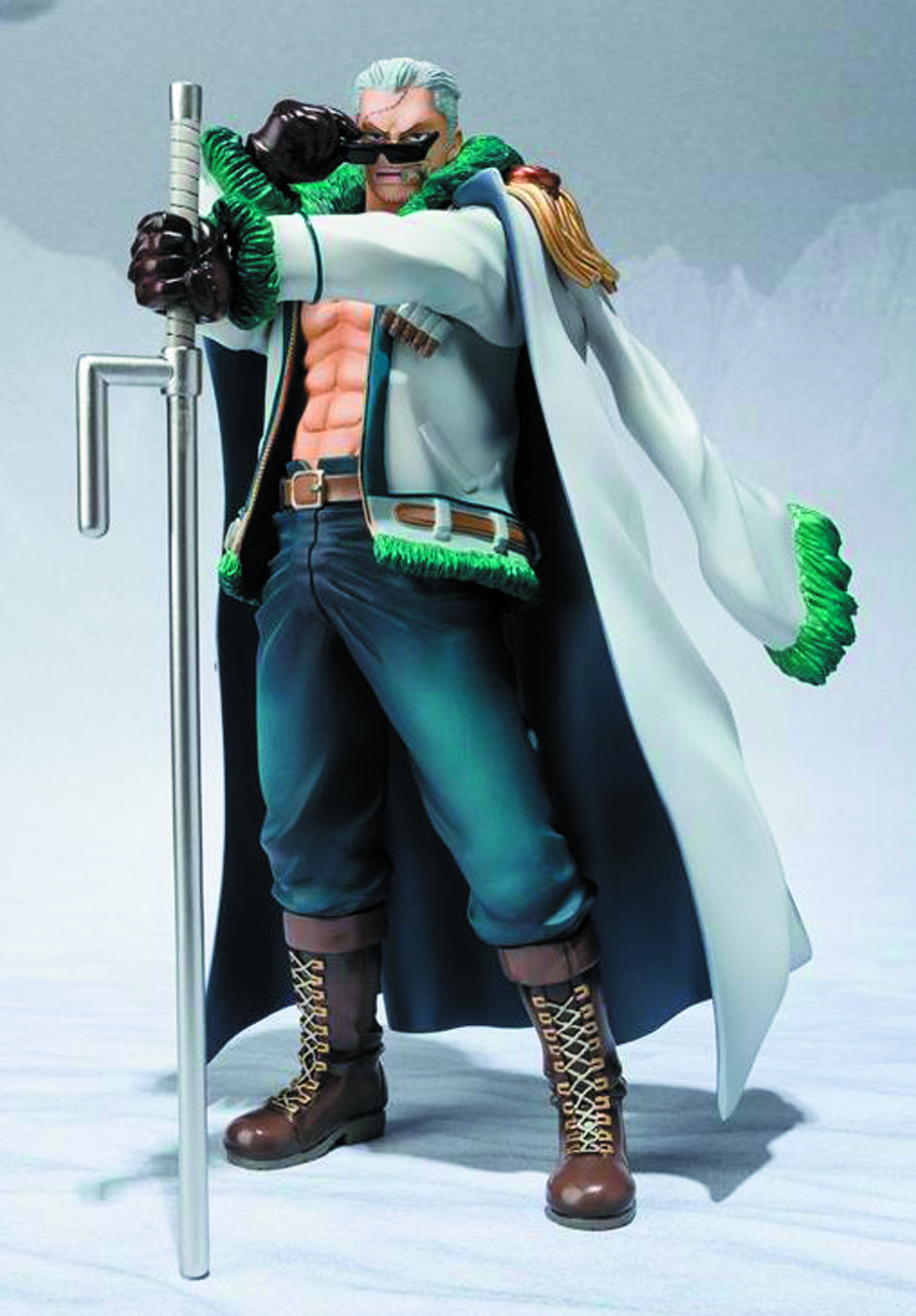 ONE PIECE SMOKER FIGUARTS ZERO AF PUNK HAZARD VER