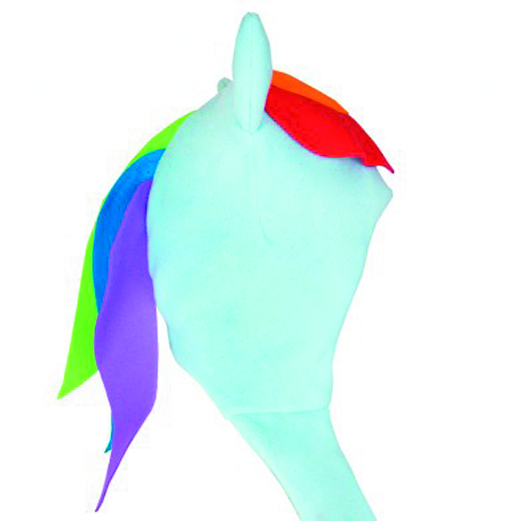 MLP RAINBOW DASH FLEECE SCARF HAT