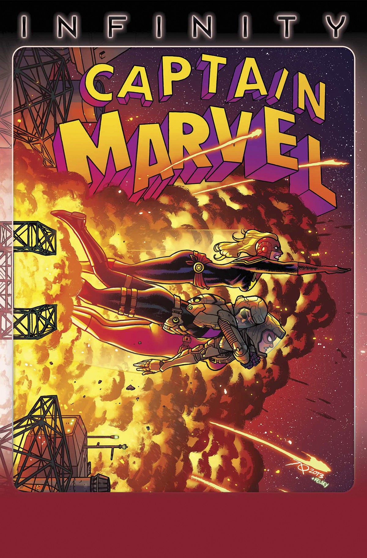 CAPTAIN MARVEL #16 INF
