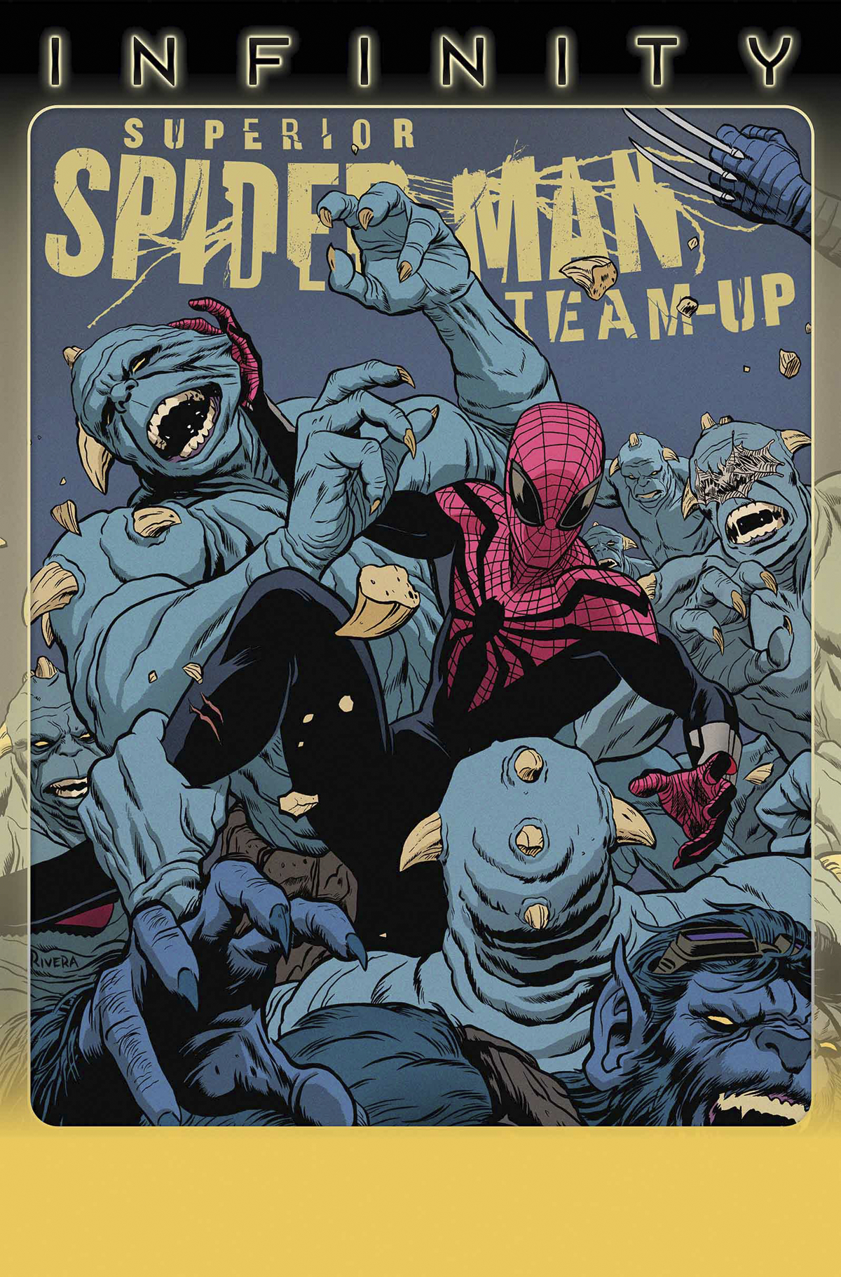 SUPERIOR SPIDER-MAN TEAM UP #4 INF