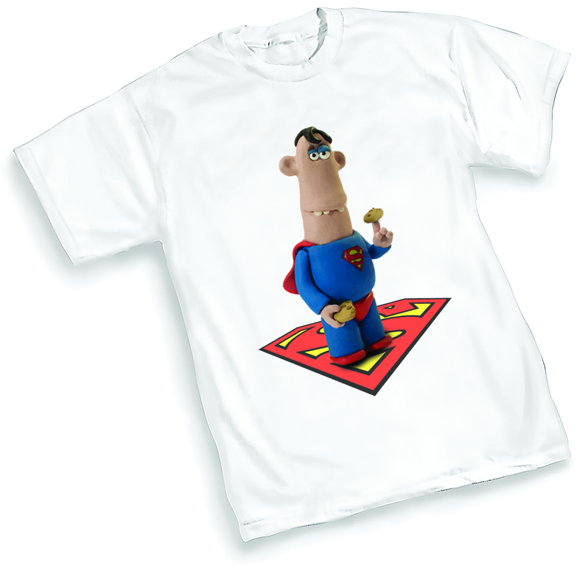 AARDMAN SUPERMAN T/S XXL