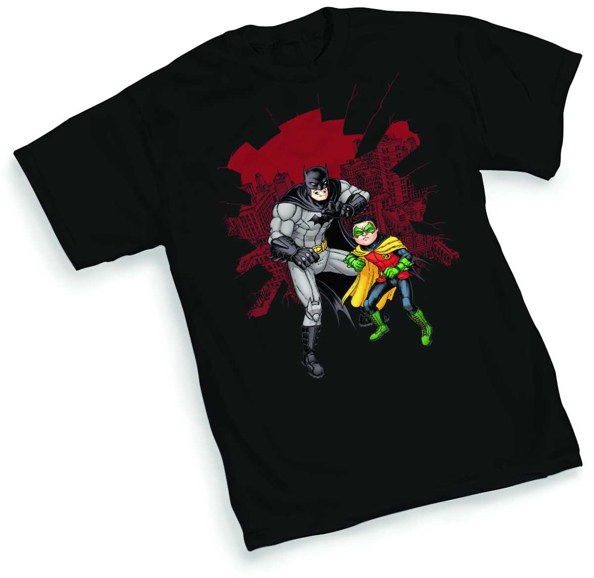 BATMAN & ROBIN SHATTER BY BURNHAM T/S XL